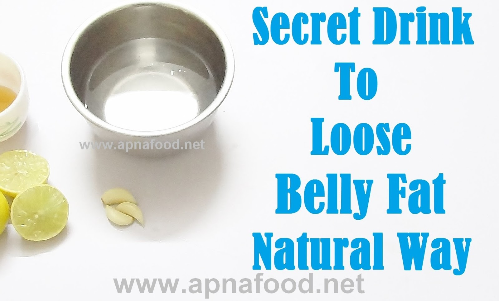 How to Reduce Belly Fat Very Fast Natural Home Remedy ...