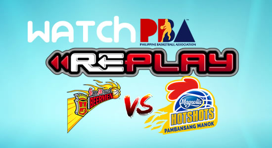 Video List: SMB vs Magnolia game replay February 4, 2018 PBA Philippine Cup