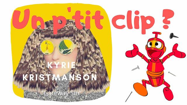 "Kyrie Kristmanson nous emmène en voyage au fil de son clip ""Gateway Sin""."