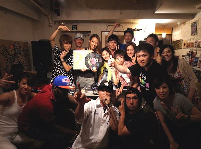渋谷のSundaland Cafeで開催した、バイブスレコードDJスクールの発表会イベントの模様です。
