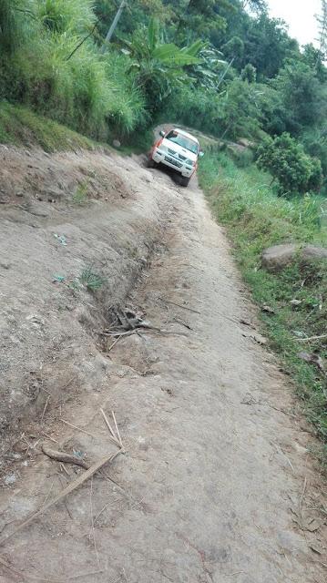 Kondisi medan berat yang dihadapi Team Lazismu Jember