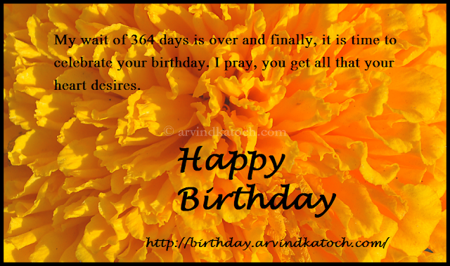 Marigold, flower, Happy Birthday, Card, Birthday Card,