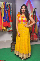 Pujitha in Yellow Ethnic Salawr Suit Stunning Beauty Darshakudu Movie actress Pujitha at a saree store Launch ~ Celebrities Galleries 022.jpg