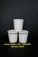 paper cup hot ukuran 6.5 oz