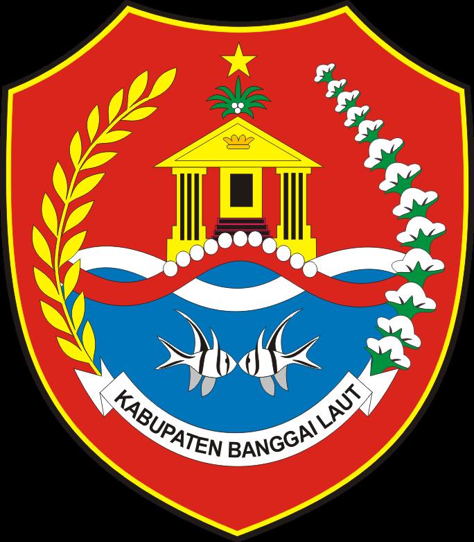 Logo Kabupaten Banggai Laut Provinsi Sulawesi Tengah Logo Lambang Indonesia