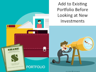 Picture Shows Investor Looking at New Investments