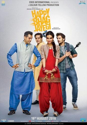 Happy Bhag Jayegi 2016 Hindi 480p DVDRip 350mb | Dual Movies