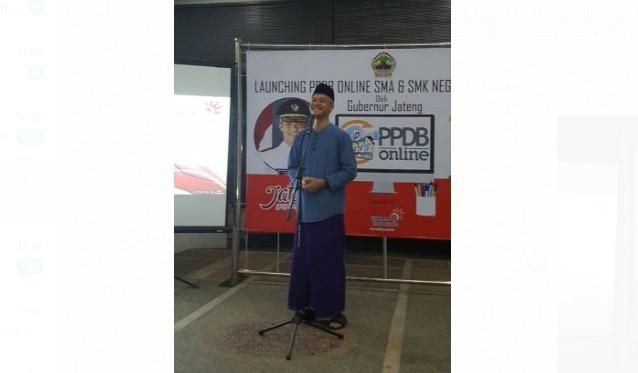 Lounching PPDB Online SMA/SMK Negeri Provinsi Jawa Tengah