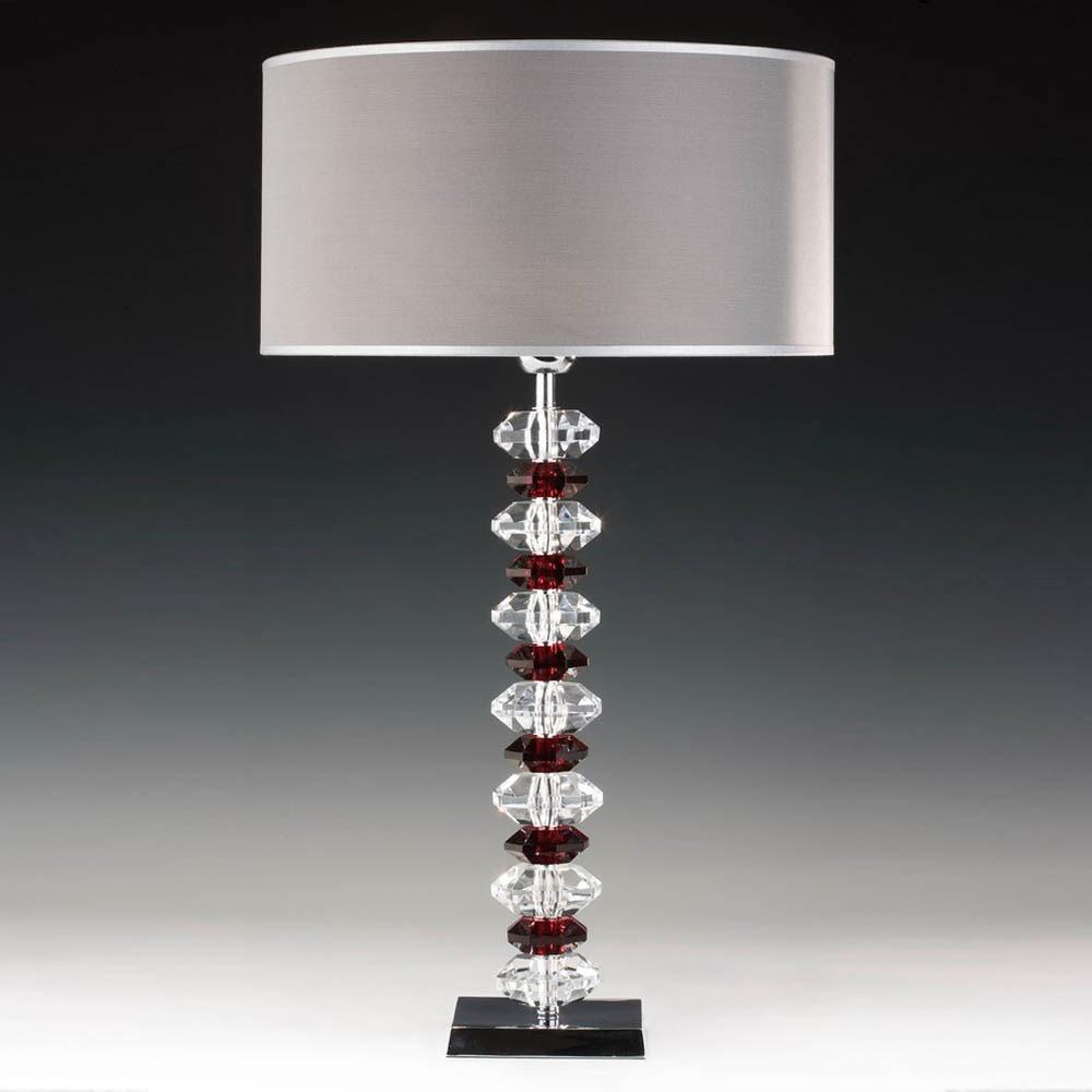 tischleuchten aus glas und kristall tischleuchte aus glas und chrom eighty eight. Black Bedroom Furniture Sets. Home Design Ideas