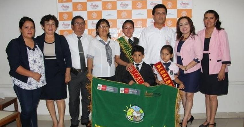 DRE San Martín reconoce a instituciones educativas con logros ambientales destacados - www.dresanmartin.gob.pe