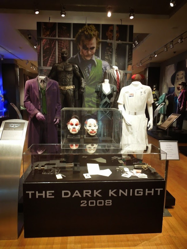 Original 2008 Dark Knight movie costumes props