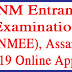 GNM Entrance Examination (GNMEE), Assam - 2019 Online Apply