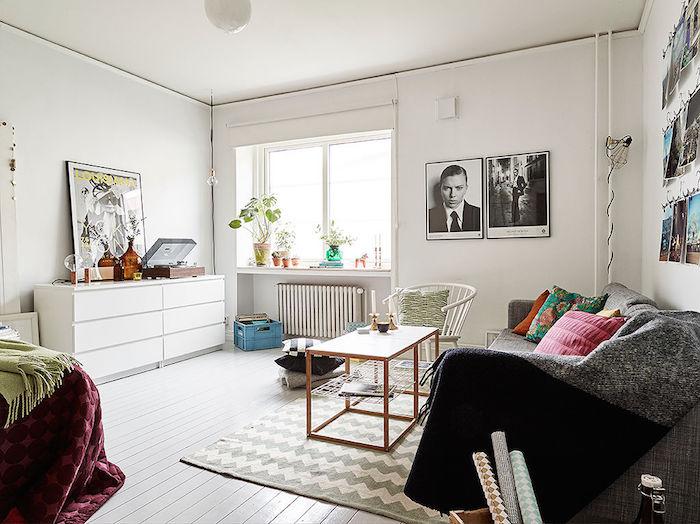 Salón y dormitorio compartido