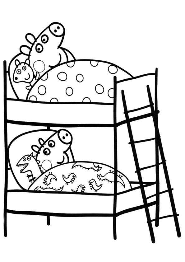 Zapatito Cochinito : 15 dibujos de PEPPA PIG para colorear ...