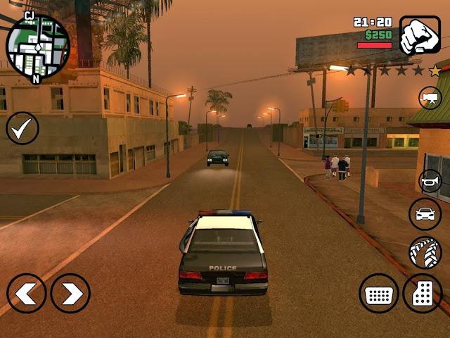 تحميل وتثبيت لعبة GTA San Andreas للأندرويد