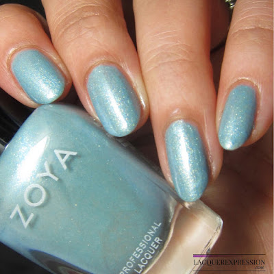 swatch of Amira from the Zoya Charming Spring 2017 nail polish collection