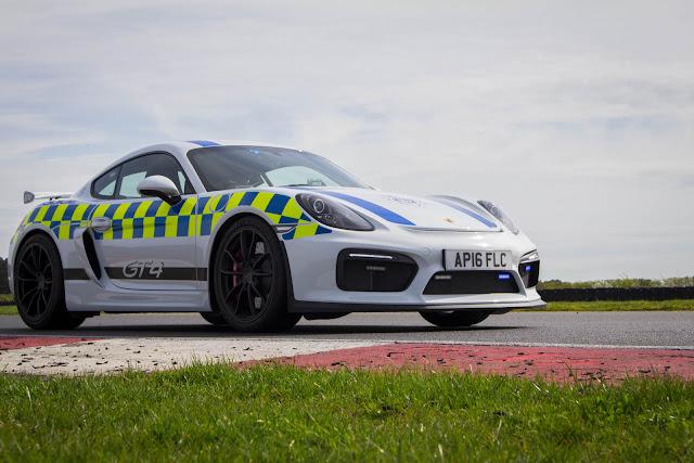 2017 Porsche Cayman GT4 Norfolk Police Car - #Porsche #Cayman #GT4 #Police_Car #tuning
