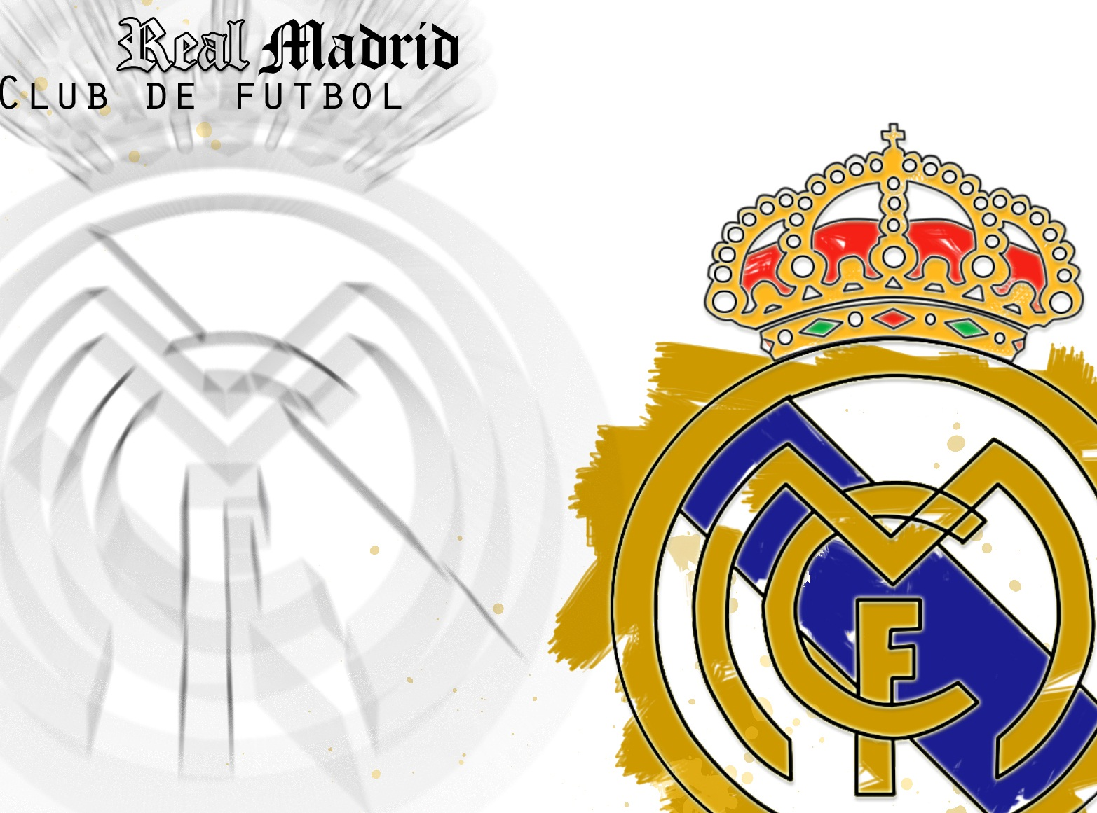Real Madrid: Real Madrid Logo HD Wallpapers