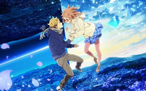 Download Kyoukai no Kanata Movie I'll Be Here - Kako-hen