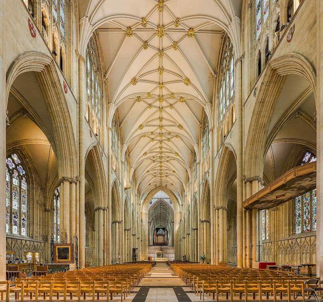 Catedral de York, Grã-Bretanha, foto David Iliff