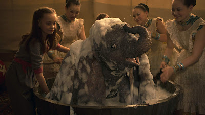 Dumbo 2019 Disney movie still elephant Nico Parker