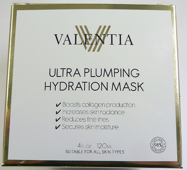 Valentia Ultra Plumping Hydration Mask