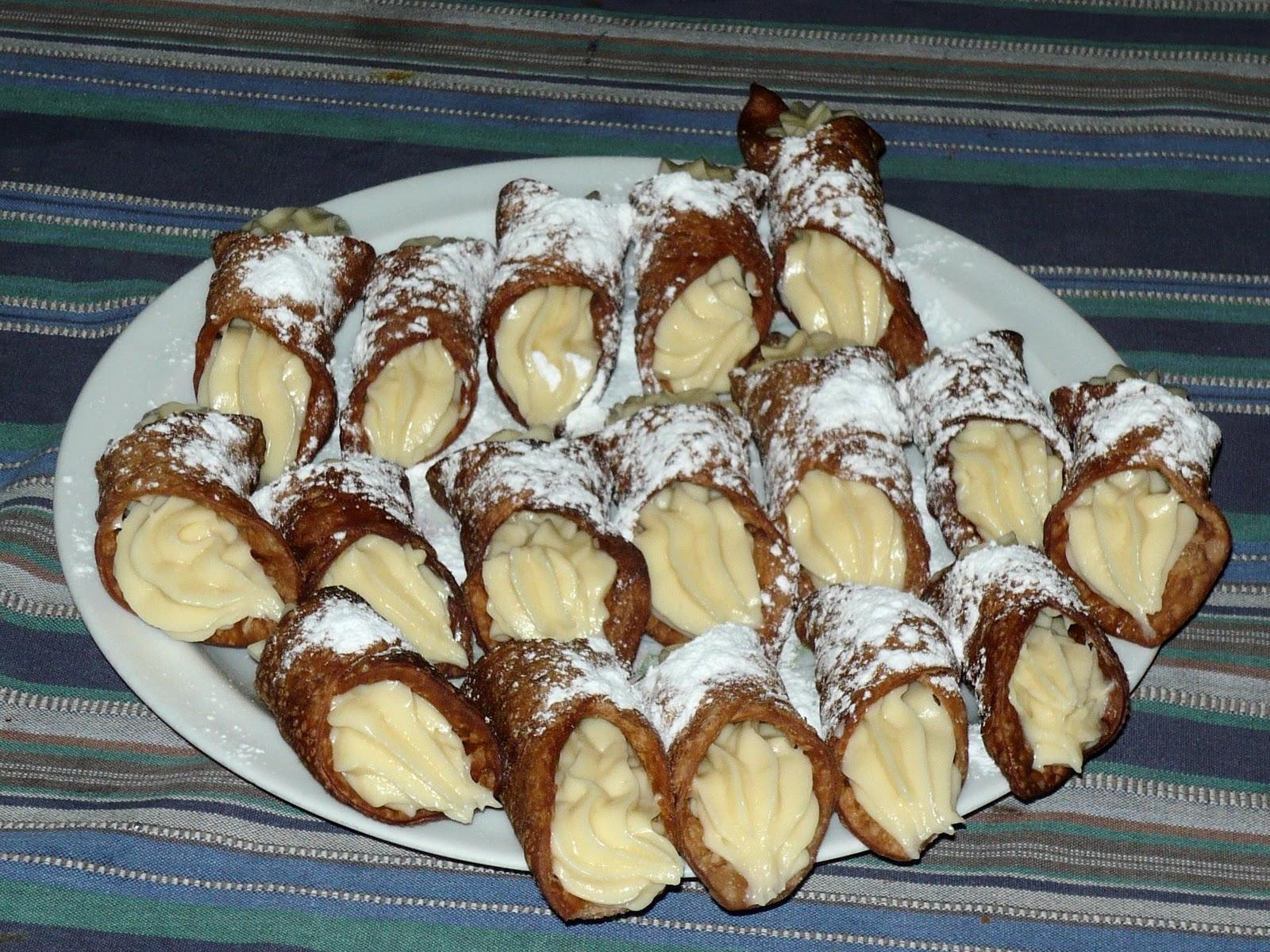 Pasticceria Hobby Cannoli Siciliani Sicilian Cannoli