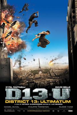 District 13: Ultimatum Poster