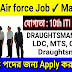 HQ Western Air Command Recruitment for 79 Group C civilian posts LDC, MTS, Cook, Draughtsman - In Bengali