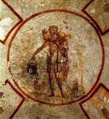 Catacombs of San Callisto, Rome, The Good Shepherd