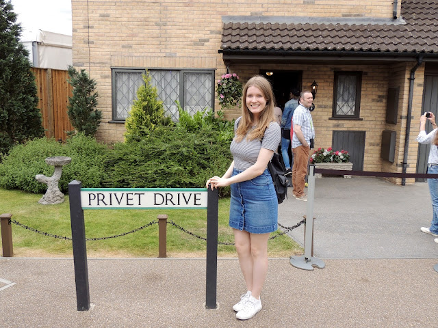 Outside Privet Drive, Harry Potter's House