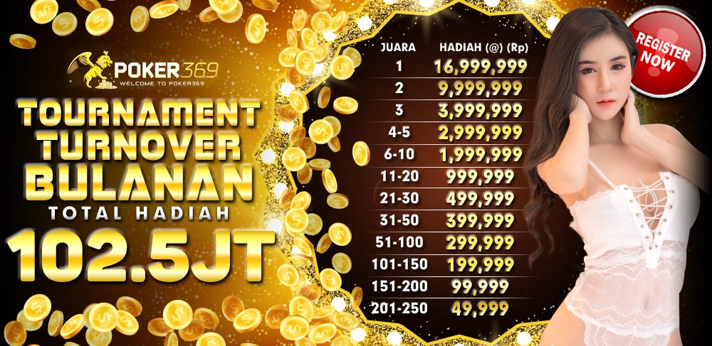 Turnamen Turn Over Bulanan POKER369