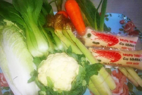 bahan sapo tahu seafood