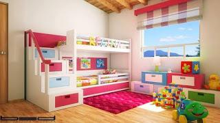 Kamar Tidur Anak Minimalis Sederhana Terbaru dan Modern Yang Harus Anda Lihat