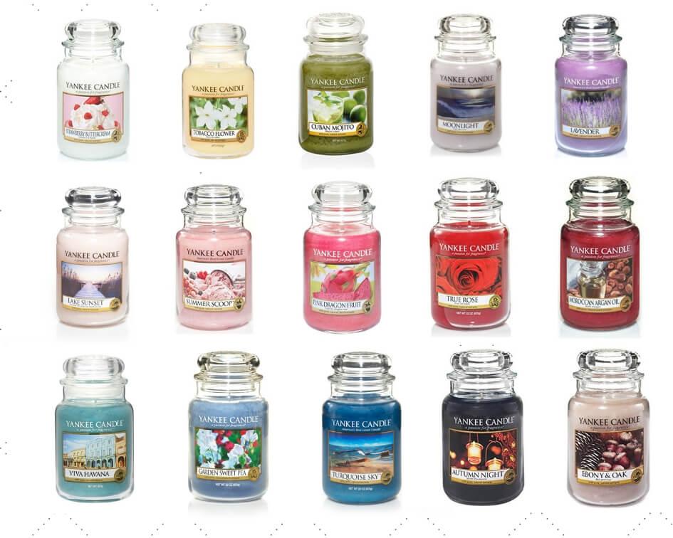 lista wycofanych zapachów yankee candle 2019