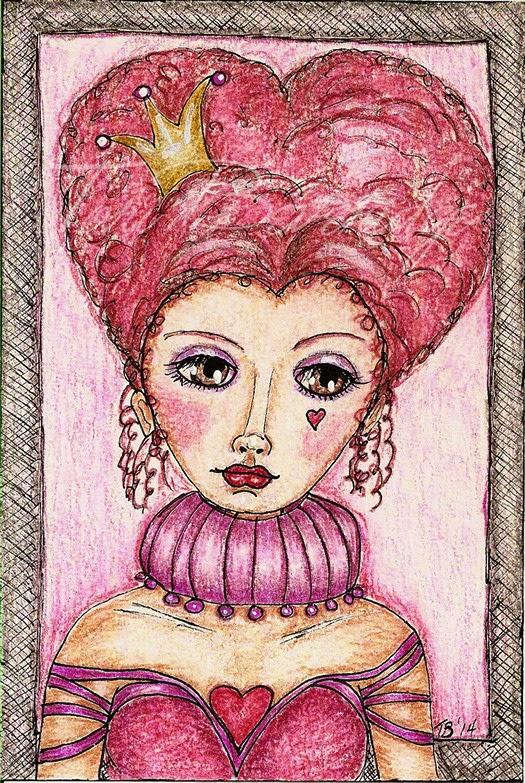 The Queen of Hearts by Tori Beveridge 2014
