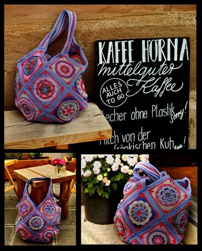 Circles of the Sun bag by Monika Kunneth