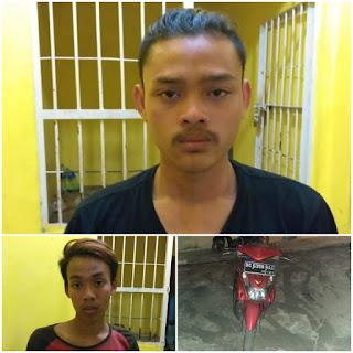Aksi Pencurian Sepeda Motor Digagalkan, 2 Pemuda Warga Sekayu Diciduk Polisi