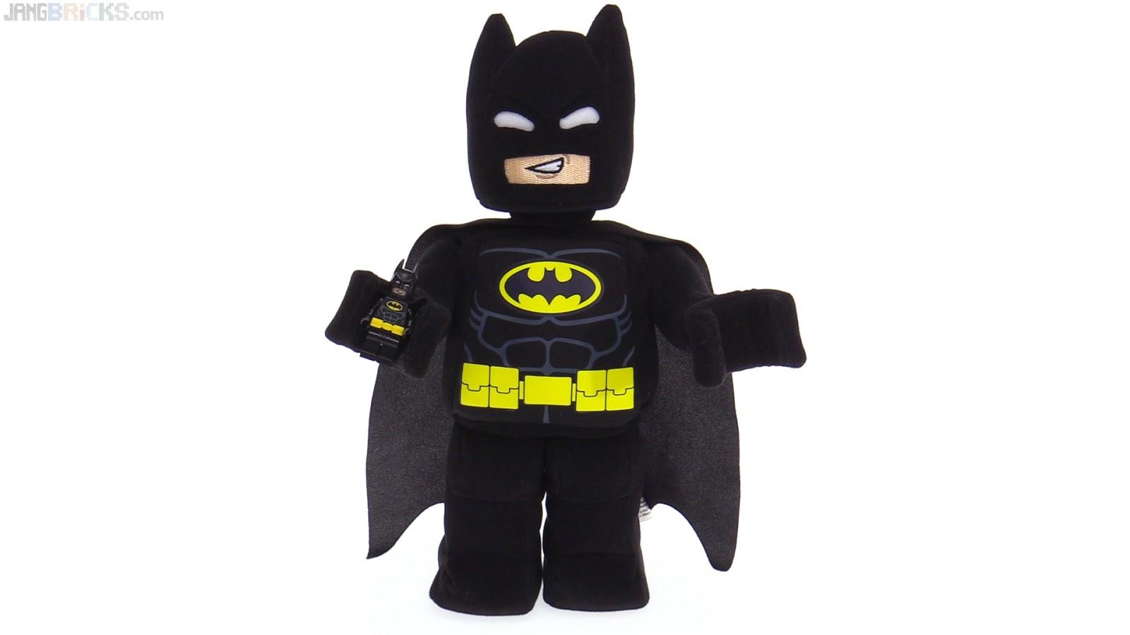 Lego Batman Toys : Lego batman minifigure plush toy review