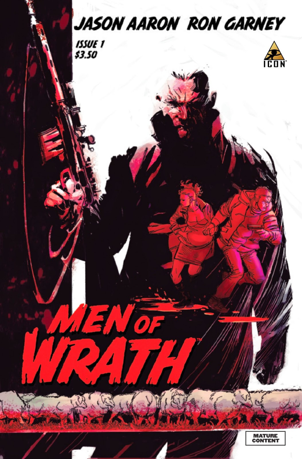 Men of Wrath 1 by Aaron and Garney standard cover