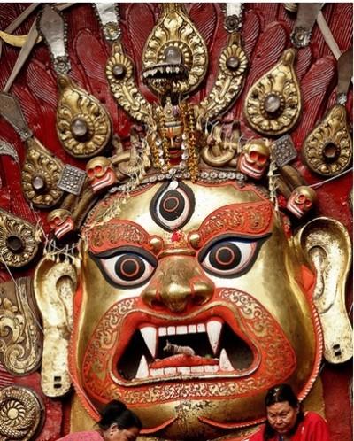 Hindu God aakash picture