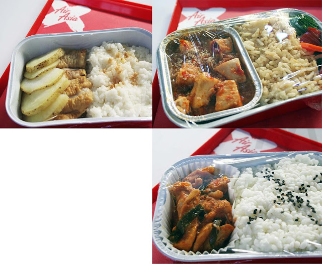 Air Asia In-Flight Meals