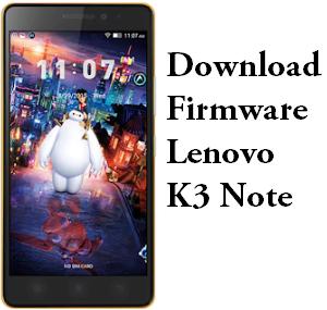 Download Firmware Lenovo K3 Note K50-T5 Original