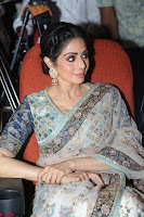 Sri Devi in designer saree stunning beauty at the launch of MOM movie Trailer~  Exclusive 139.JPG