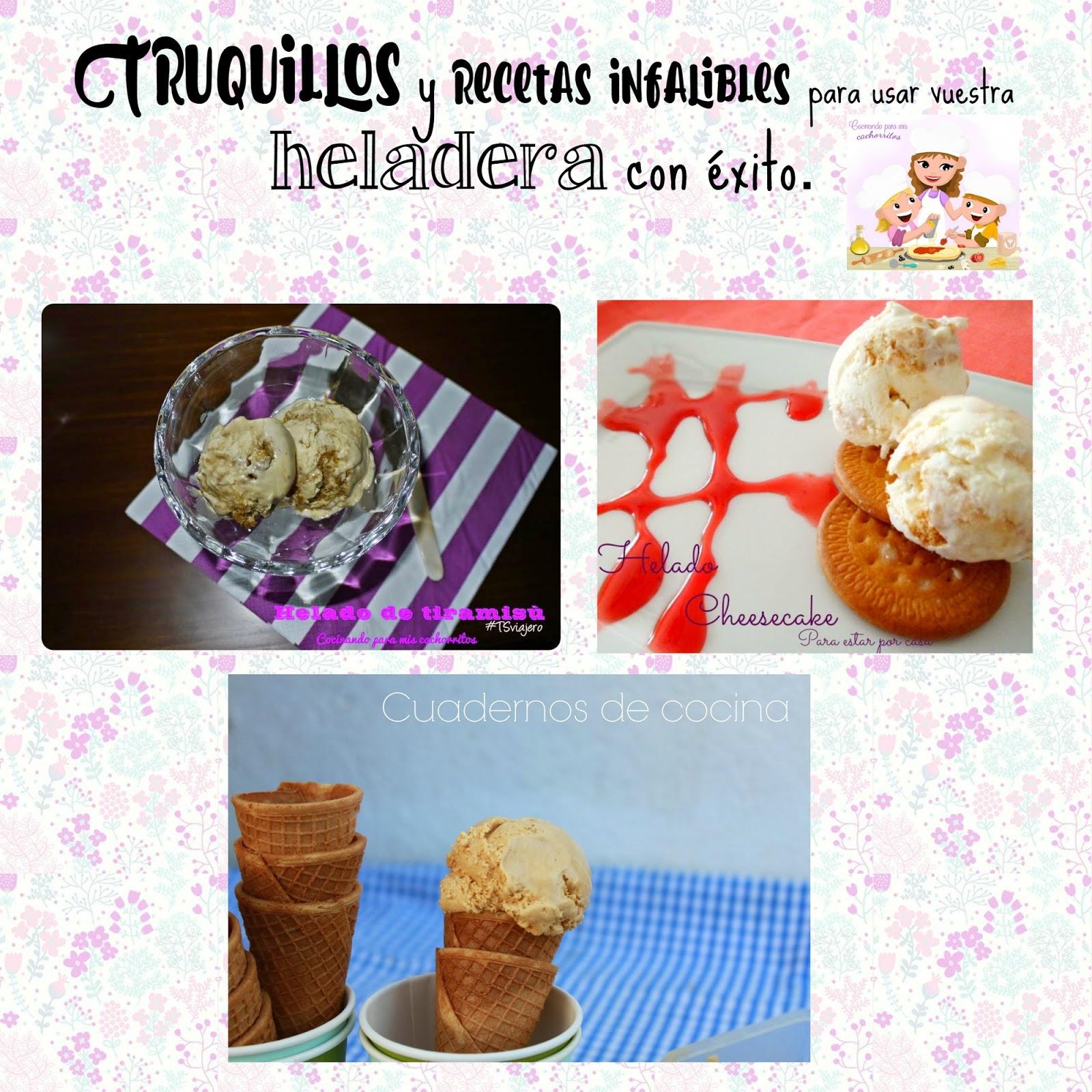 4 deliciosos helados con y sin heladera y todos los for Heladera y cocina juntas