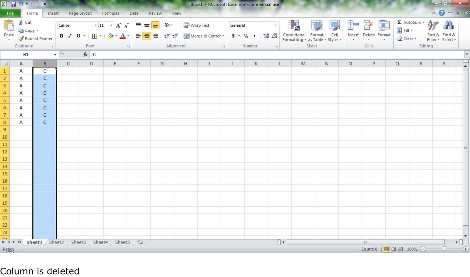 Crazy On Excel Delete Columns Or Rows