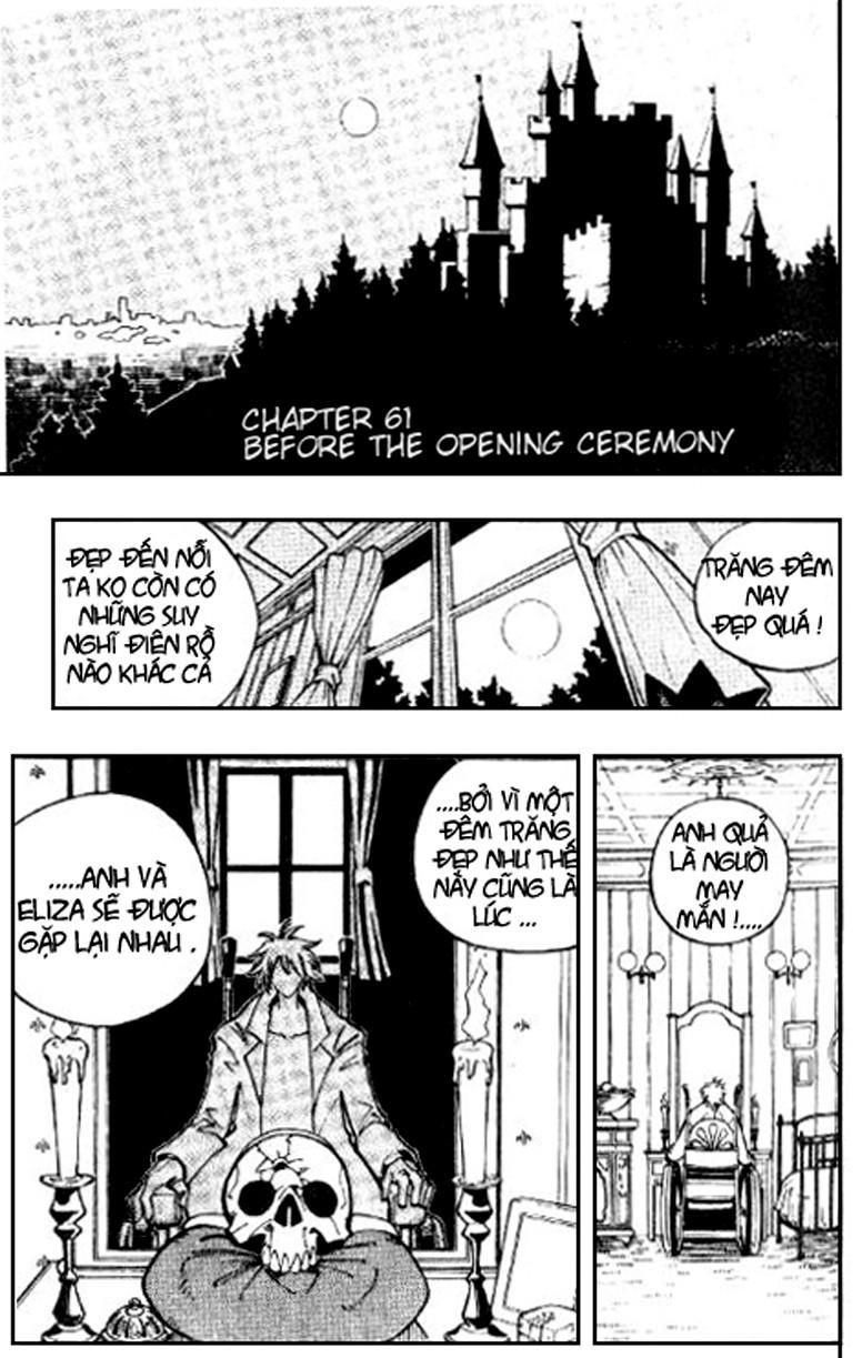 Shaman King [Vua pháp thuật] chap 61 trang 1