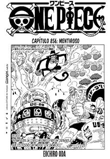 One Piece 856 Mangá – Português