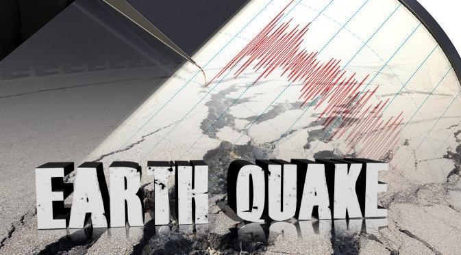Gempa yang terjadi selama bulan Agustus 2017