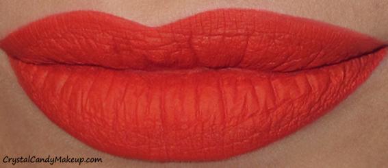 Anastasia Beverly Hills Matte Liquid Lipsticks Review Swatch Spicy